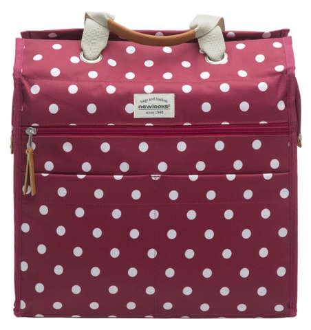basil lilly polka einkaufstasche fahrradtasche handtasche f r gep cktr ger ebay. Black Bedroom Furniture Sets. Home Design Ideas