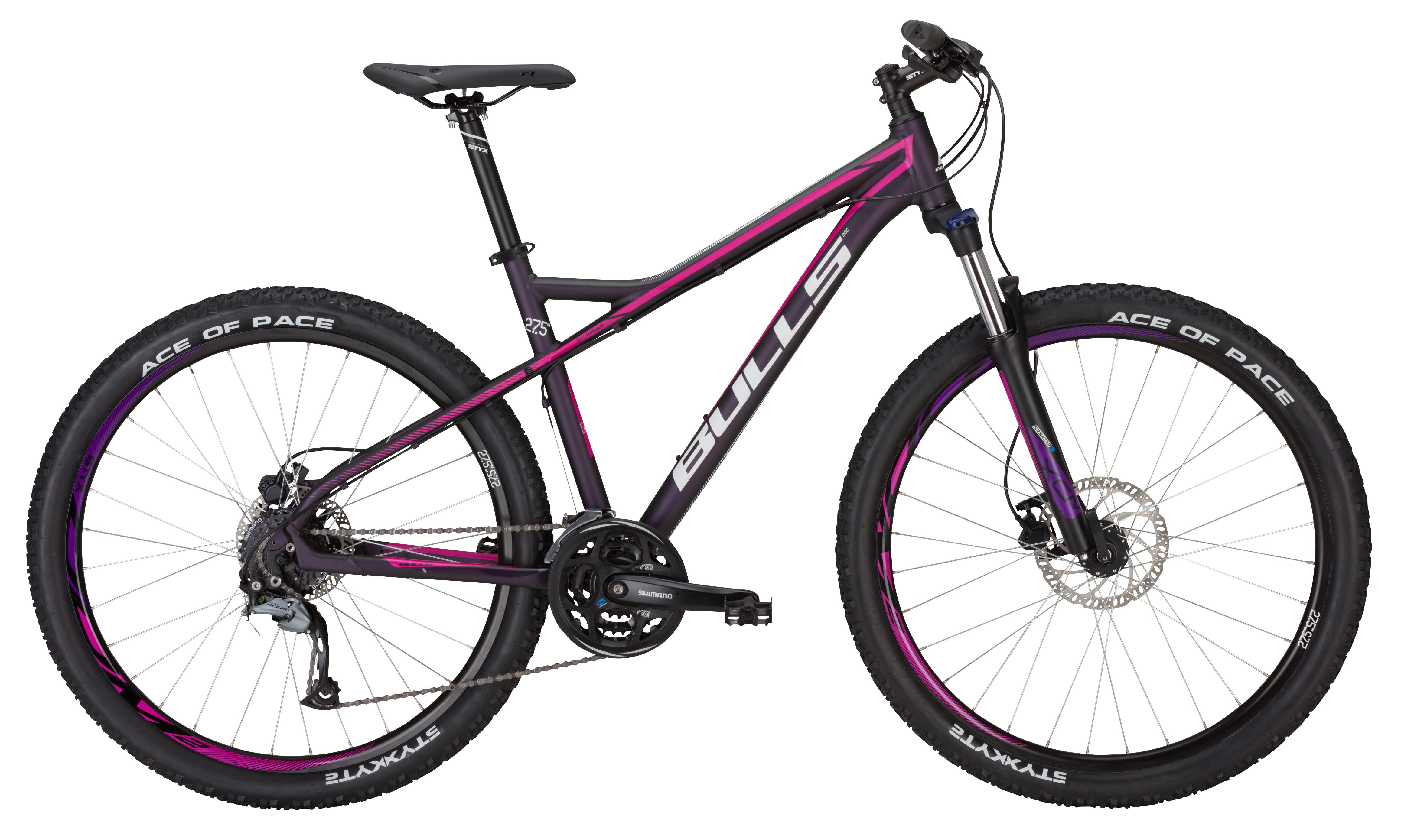 bulls zarena 27 5 zoll shimano 24gang mountainbike 41cm damen fahrrad mtb 2017 ebay. Black Bedroom Furniture Sets. Home Design Ideas